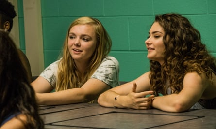 Elsie Fisher and Emily Robinson in Eighth Grade.