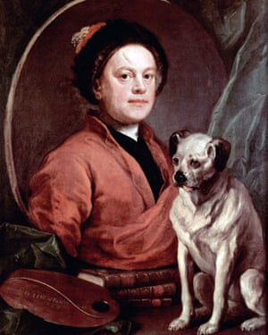 Painter and his Pug, 1745, is a  self-portrait by William Hogarth.