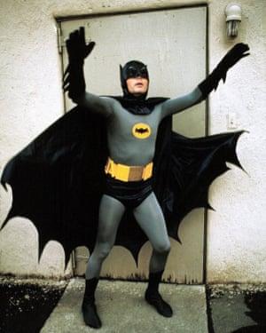 Adam West as Batman in 1966