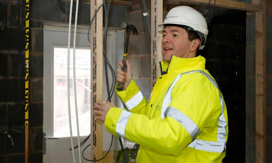 George Osborne in Sandbach