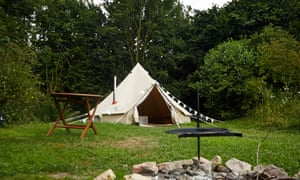 Ostler's campsite, Lincolnshire