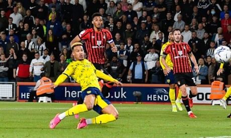 Callum Robinson earns West Brom a battling point at Bournemouth