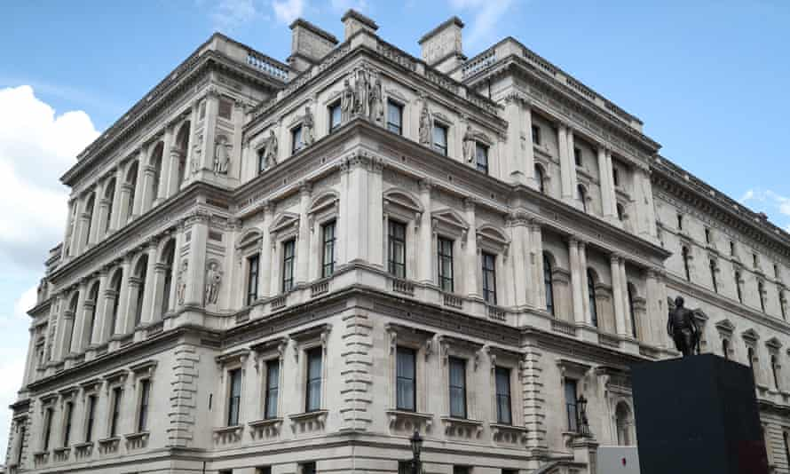 The Foreign & Commonwealth Office in Whitehall, London.