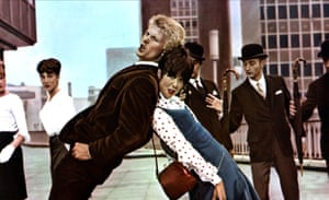With Joe Brown in Three Hats For Lisa, 1966.