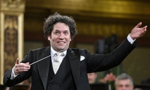 El Sistema's figurehead, the conductor Gustavo Dudamel.