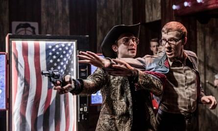 Joey Hickman and Jack Quarton in Assassins