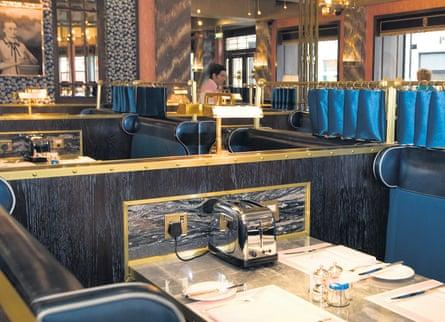 Photograph of Bob Bob Ricard restaurant