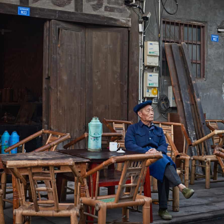 Exterior, Guanyin Pavilion Teahouse, China