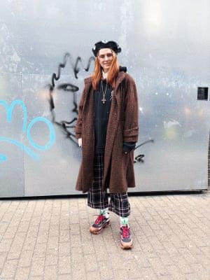 Valeria, fashion designer