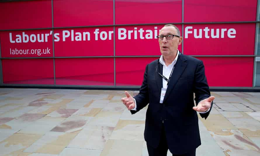 The fight goes on ... Martin at Labour conference