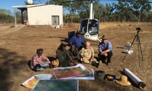 Planning the annual burning country in central Australia