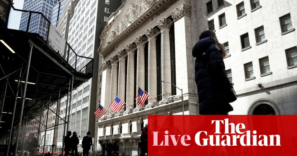 Markets rally ahead of Biden's $6tn budget proposal to boost US economy – business live