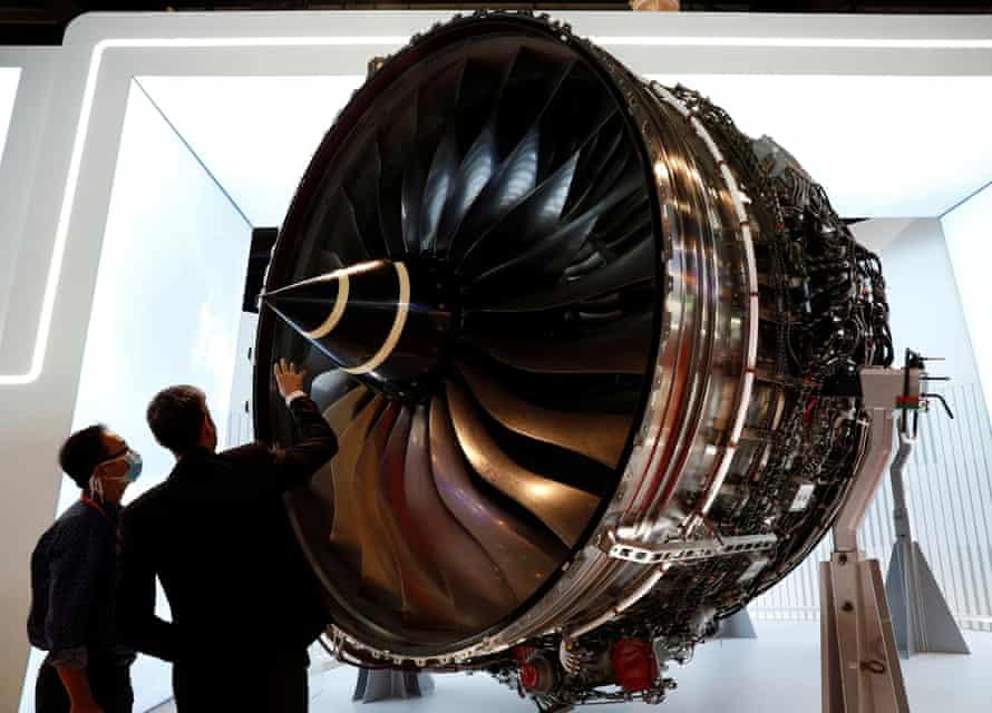 Rolls Royce Trent engine