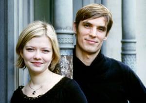 Alina Ibragimova and Cédric Tiberghien.