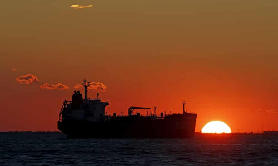 File photo of an oil tanker