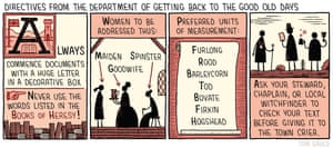 Tom Gauld's illustration for Review 3 August 2019