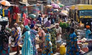 Balogun market, Lagos.