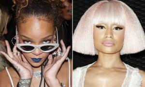 Rihanna and Nicki Minaj