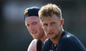 Joe Root and Ben Stokes during a nets session in Colombo in early March before England's tour of Sri Lanka was abandoned