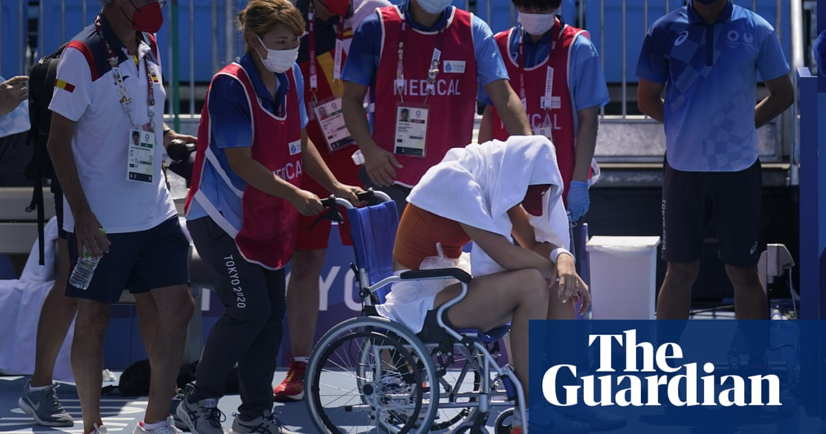 Olympic athletes and volunteers in Tokyo 'tortured' by hottest Games ever