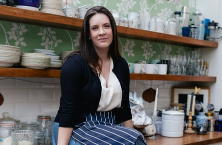 'I was falling apart' … Olivia Potts who swapped law for cordon bleu cuisine.
