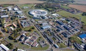 The Harwell science and innovation campus, near Didcot, Oxfordshire, where the new vaccine manufacturing centre will be built.
