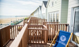 Site for shore eyes … Bournemouth Beach Lodges