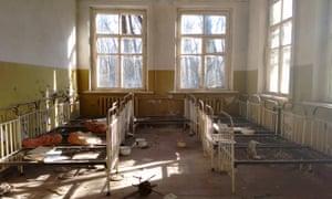 Abandoned buildings in Pripyat, Ukraine