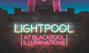 LightPool sign on Blackpool Tower
