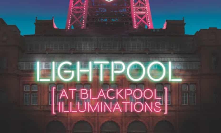 LightPool sign on Blackpool Tower