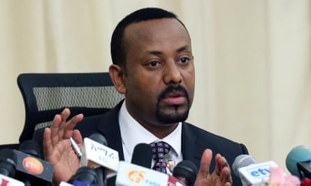 Abiy Ahmed, Ethiopia's prime minister.