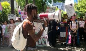 Ayotunde Ikuku: 'Police don't protect us.'