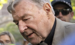 George Pell during his county court trial