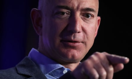Amazon CEO, Jeff Bezos, who emailed staff on Monday to inform them the company would be supporting the Washington state attorney general's case against the travel ban.