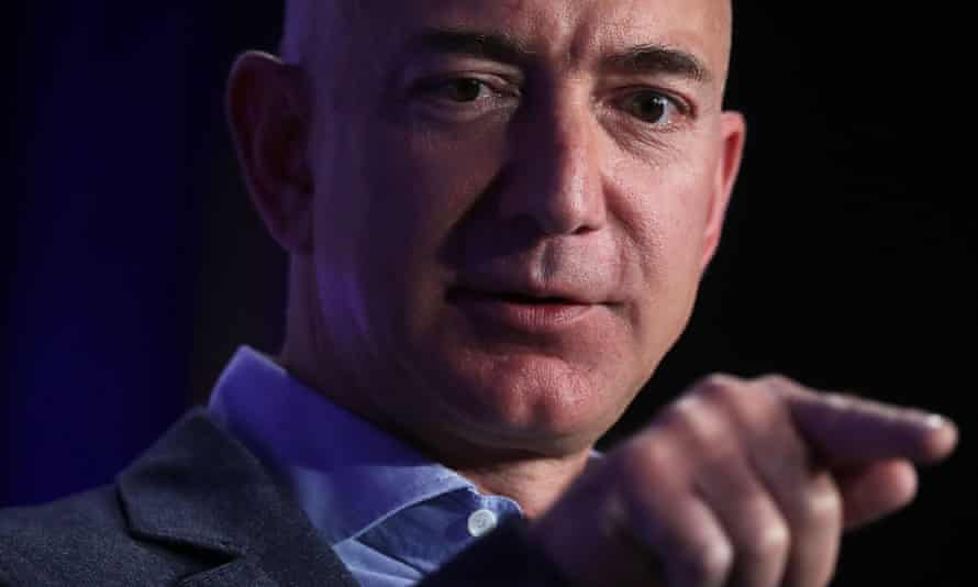 Jeff Bezos, who also owns The Washington Post, has used humor to hit back at Trump's allegation he bought the newspaper to exert political power.