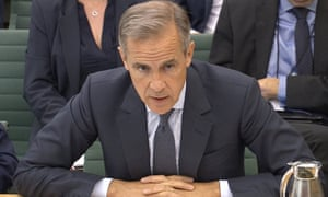 Mark Carney, the Governor of the Bank of England, speaks to the Treasury Committee in London on 4 September.