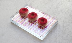 Tast's nuck'in donut snack 'tastes like a satanic Quality Street'.