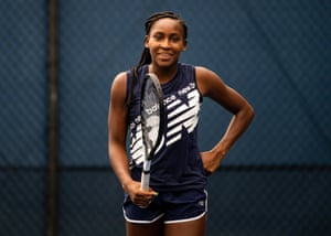 Coco Gauff says: 'My dad has always instilled in me that I can do anything I want. I think that's the reason why I believe in myself so much.'