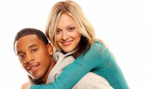 Making waves: Reggie Yates with Fearne Cotton when they worked at Radio 1. 'At 18, I'd already been on telly for a decade. I had a mortgage and three year-long contracts for Radio 1, Top of the Pops and CBBC, I'd also had a decade of my mum telling me, Don't mess up.'