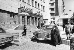 Central bank (where crown jewels kept), Tehran