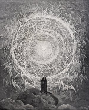 Illustration for Dante's Paradiso, Canto 31 by Gustave Doré, 1868.