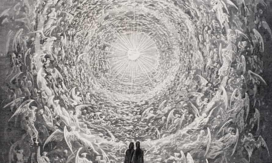 Illustration of Dante's Paradiso by Gustave Dore (1832-1883).