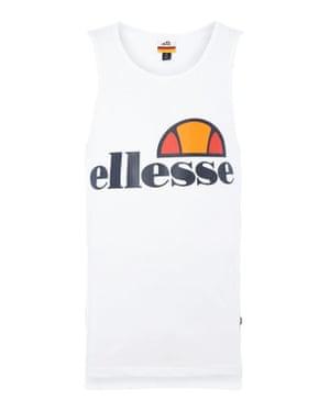 White Ellesse vest