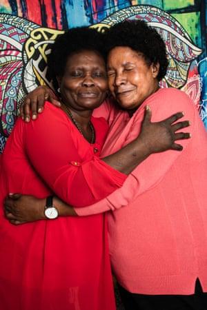 Leticia 63, is a Ugandan asylum seeker in the UK