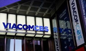 ViacomCBS headquarters in New York.