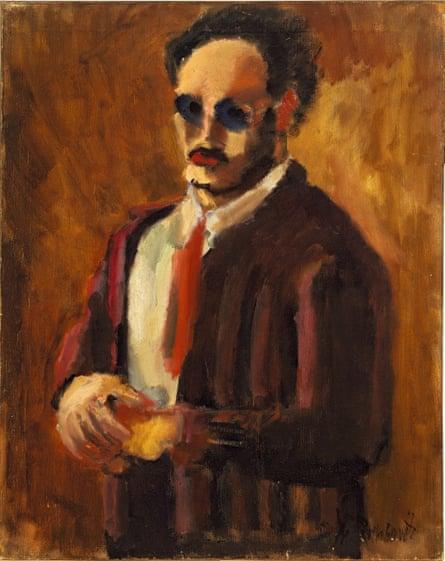 Self-Portrait, 1936 by Mark Rothko.