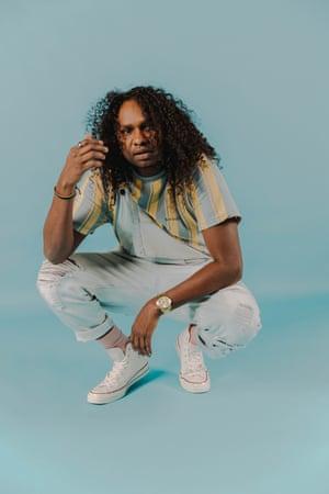 Indigenous Australian hip-hop artist Baker Boy