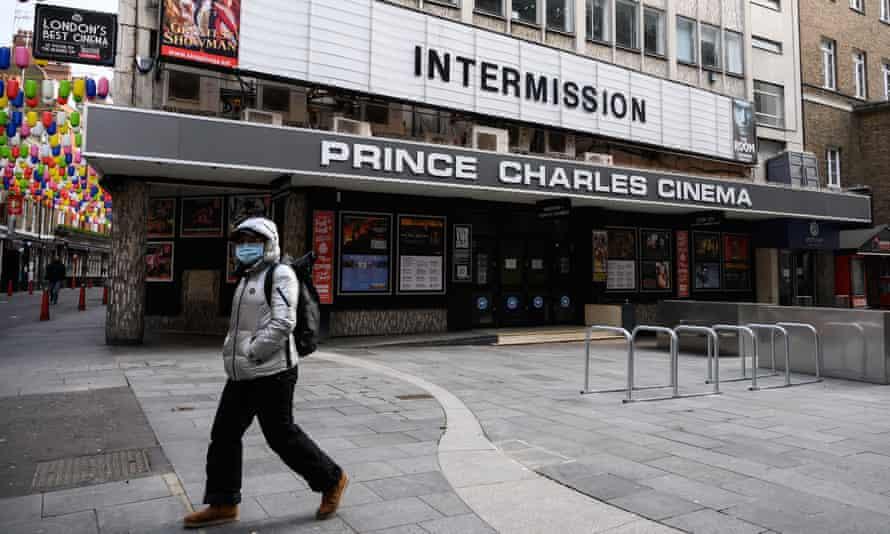The Prince Charles cinema in London during lockdown in November