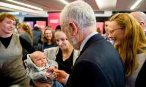 Not everyone was please to see Jeremy Corbyn at the Labour event at the University of Lancaster earlier.