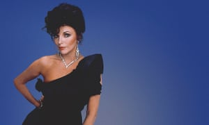 Joan Collins as Alexis Colby in Dynasty.